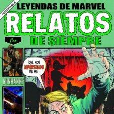 Cómics: LEYENDAS DE MARVEL: RELATOS DE SIEMPRE. Lote 199325395