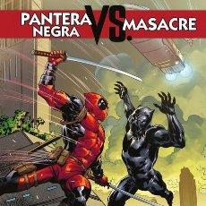 Cómics: PANTERA NEGRA VS MASACRE. Lote 199326338