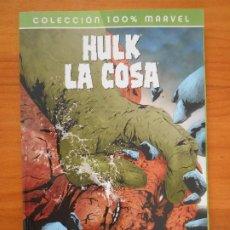 Cómics: HULK / LA COSA - A GOLPES - COLECCION 100% MARVEL - PANINI (BK). Lote 199370547