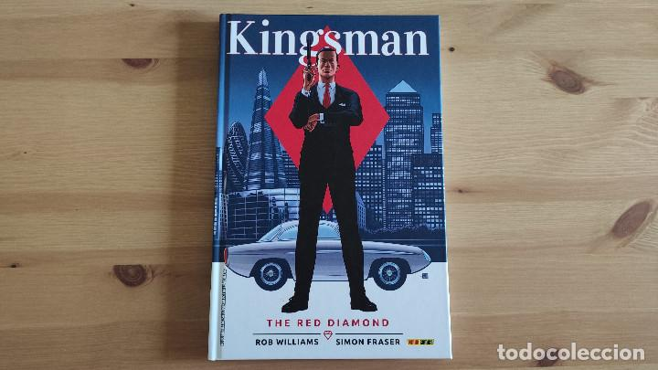 KINGSMAN 2: THE RED DIAMOND, DE PANINI COMICS (ROB WILLIAMS & SIMON FRASER) (Tebeos y Comics - Panini - Otros)