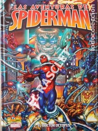LAS AVENTURAS DE SPIDERMAN - 2. DOCTOR OCTOPUS -TAPAS DURAS - DE PANINI (Tebeos y Comics - Panini - Marvel Comic)
