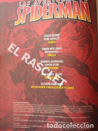 Cómics: LAS AVENTURAS DE SPIDERMAN - 2. DOCTOR OCTOPUS -TAPAS DURAS - DE PANINI - Foto 2 - 199938118