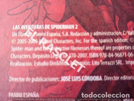 Cómics: LAS AVENTURAS DE SPIDERMAN - 2. DOCTOR OCTOPUS -TAPAS DURAS - DE PANINI - Foto 3 - 199938118