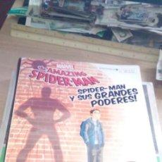 Cómics: SPIDER-MAN Y SUS GRANDES PODERES CON PEGATINAS. Lote 200201782