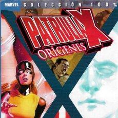 Fumetti: PATRULLA X ORÍGENES - X-MEN ORÍGENES 2 - MARVEL COLECCIÓN 100 % - PANINI COMICS, 2010.. Lote 200322838