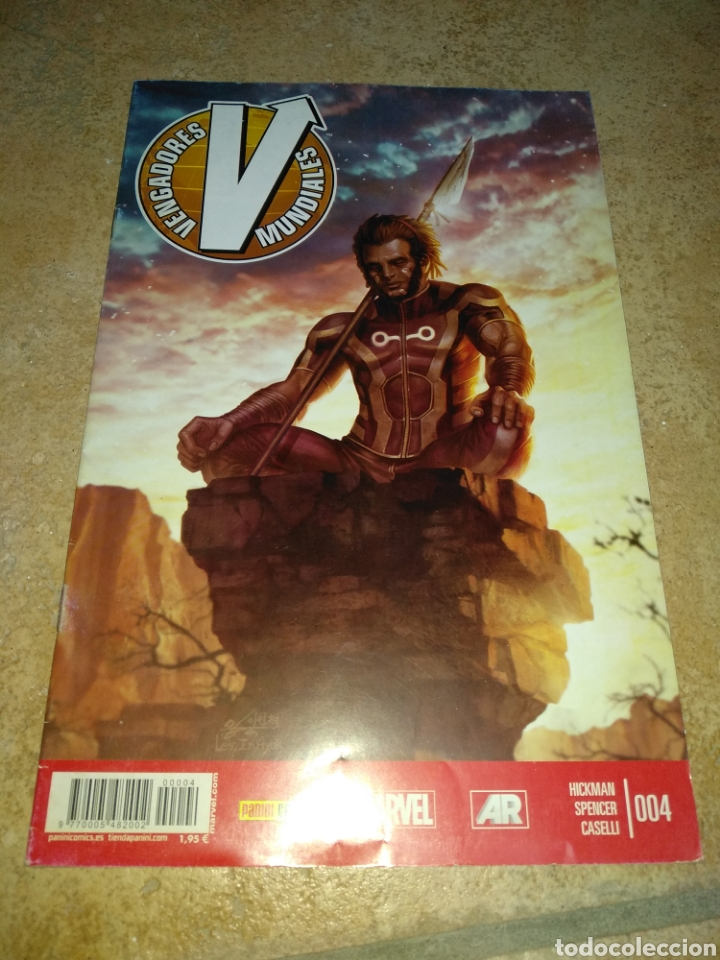 VENGADORES MUNDIALES 4 (Tebeos y Comics - Panini - Marvel Comic)