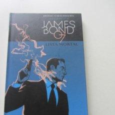 Comics : JAMES BOND LISTA MORTAL DIGGLE PANINI BUEN ESTADO. Lote 200813965