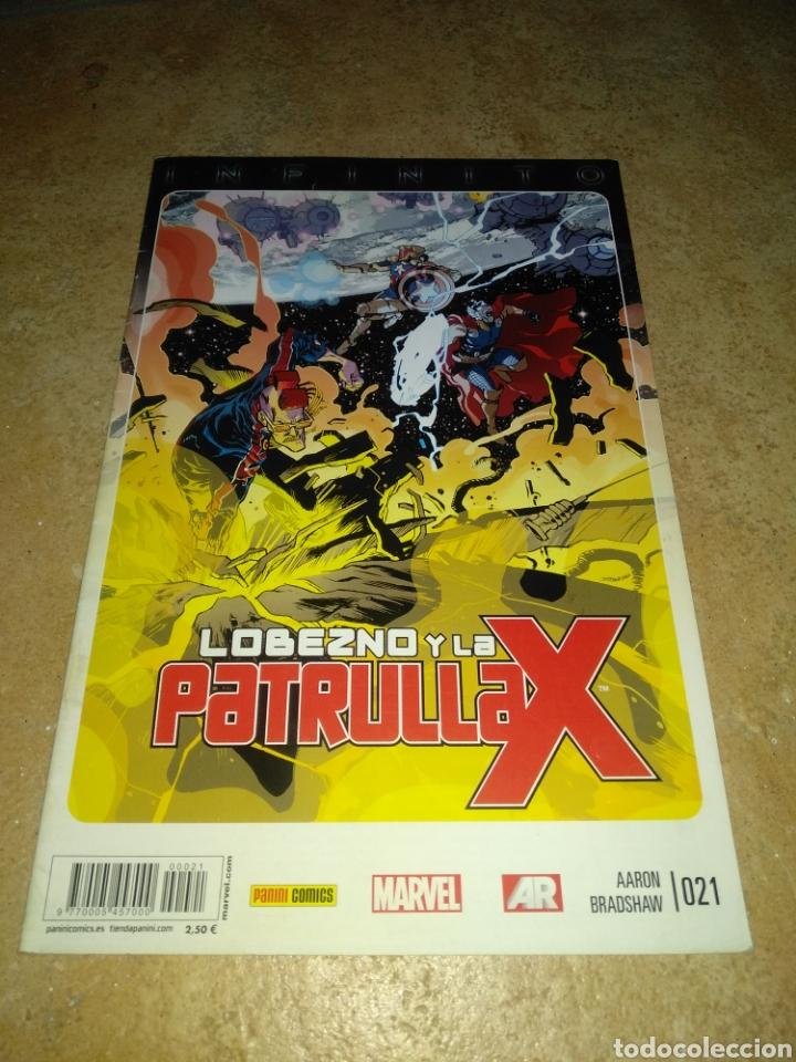 LOBEZNO Y LA PATRULLA X 21 (Tebeos y Comics - Panini - Marvel Comic)