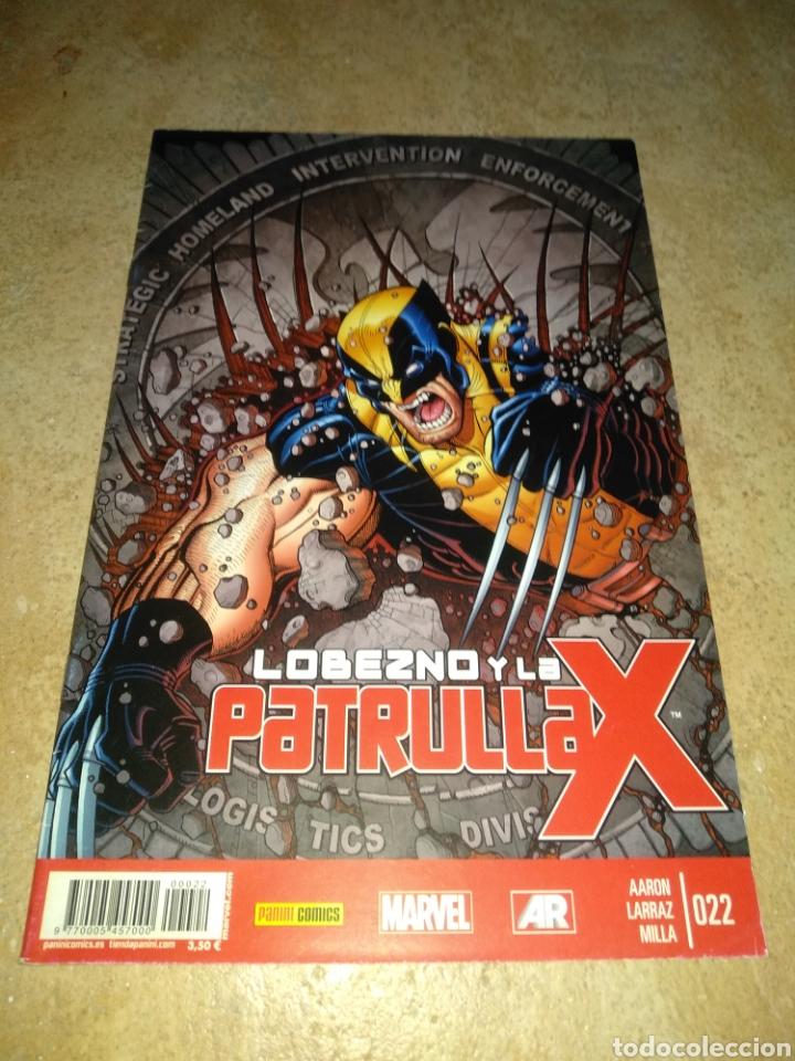 LOBEZNO Y LA PATRULLA X 22 (Tebeos y Comics - Panini - Marvel Comic)