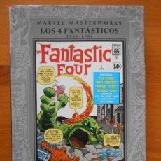 Cómics: LOS 4 FANTASTICOS Nº 1 - MARVEL MASTERWORKS - PANINI - TAPA DURA (8V). Lote 201729578