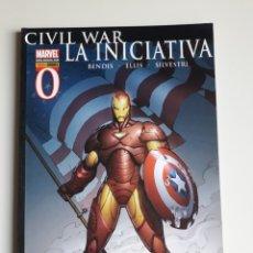 Comics: CIVIL WAR. LA INICIATIVA. TOMO 0. Lote 201895715
