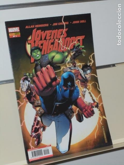 MARVEL JOVENES VENGADORES Nº 1 - PANINI (Tebeos y Comics - Panini - Marvel Comic)