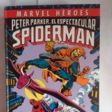 Cómics: MARVEL HÉROES- PETER PARKER. EL ESPECTACULAR SPIDERMAN - NOCHES DE NUEVA YORK. Lote 221410180