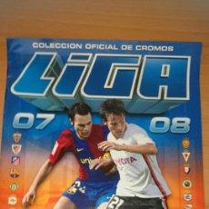 Cómics: ALBUM CROMOS ESTE 2007-2008, LFP NUEVO SIN USAR. Lote 202419468