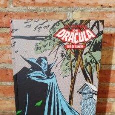 Cómics: LA TUMBA DE DRÁCULA 2 SED DE SANGRE MARVEL LIMITED EDITION IMPECABLE. Lote 202769691