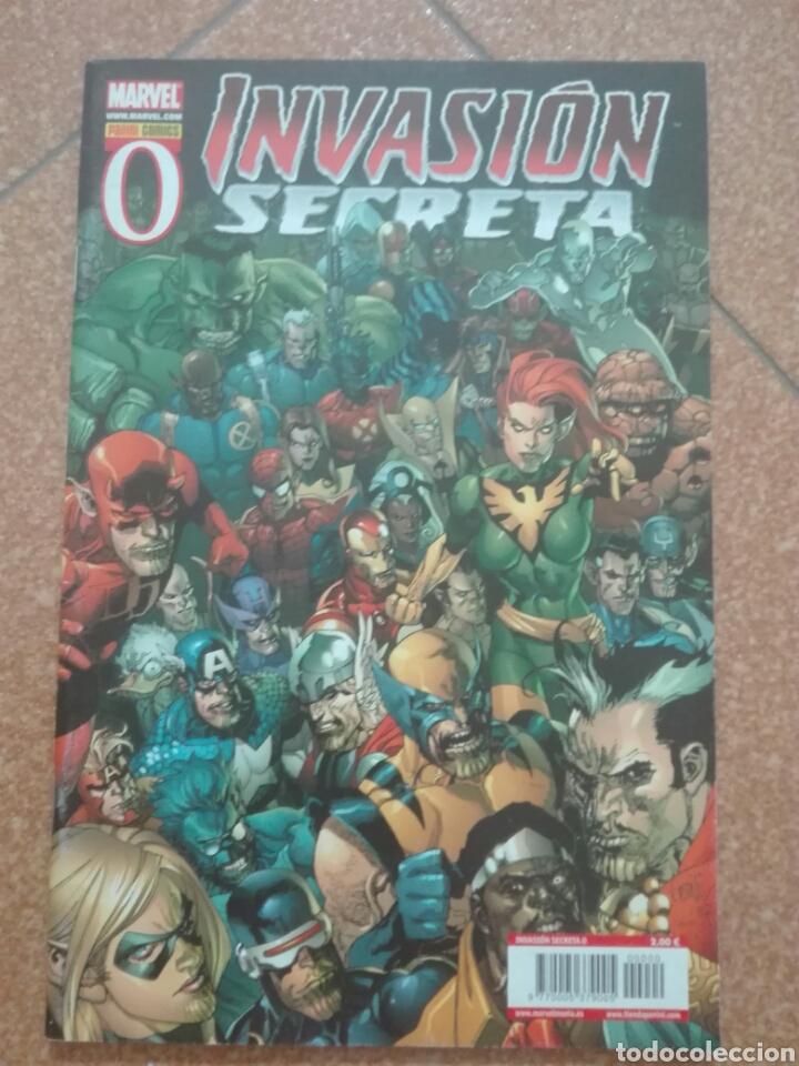 INVASIÓN SECRETA Nº 0. PANINI. COMO NUEVO (Tebeos y Comics - Panini - Marvel Comic)