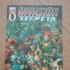Cómics: INVASIÓN SECRETA Nº 0. PANINI. COMO NUEVO. Lote 203460496