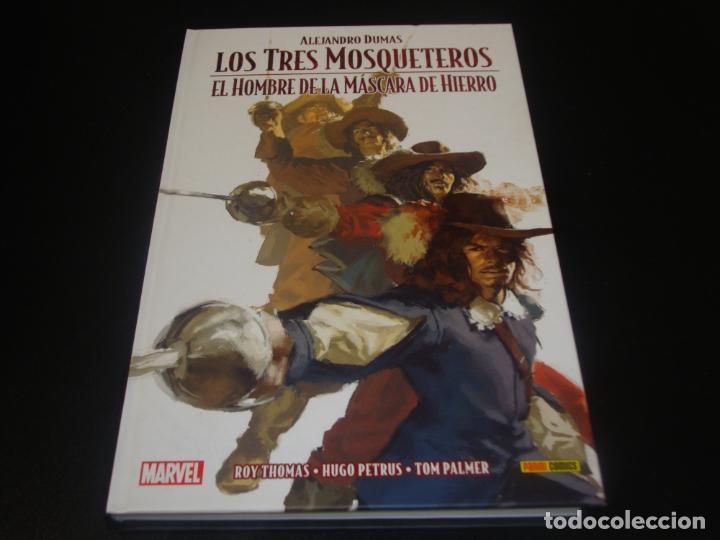 LOS TRES MOSQUETEROS EL HOMBRE DE LA MASCARA DE HIERRO (Tebeos y Comics - Panini - Otros)