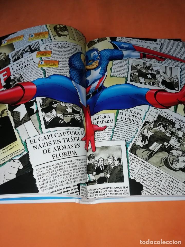 Cómics: LAS AVENTURAS DEL CAPITAN AMERICA CENTINELA DE LA LIBERTAD. NICIEZA & MAGUIRE. CARTONE. - Foto 5 - 204066536