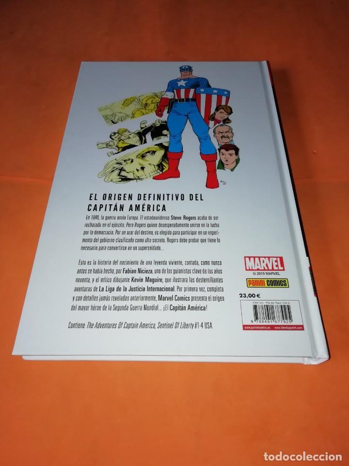 Cómics: LAS AVENTURAS DEL CAPITAN AMERICA CENTINELA DE LA LIBERTAD. NICIEZA & MAGUIRE. CARTONE. - Foto 2 - 204066536