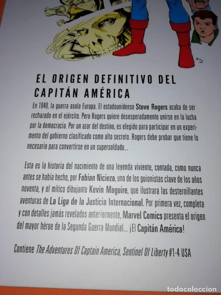 Cómics: LAS AVENTURAS DEL CAPITAN AMERICA CENTINELA DE LA LIBERTAD. NICIEZA & MAGUIRE. CARTONE. - Foto 7 - 204066536
