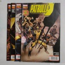 Cómics: PATRULLA X. PANINI. MARVEL. N° 1, 2, 3, 4. 2005. Lote 204219758
