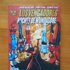 Cómics: LOS VENGADORES - NOCHES DE WUNDAGORE - MICHELINE, BYRNE, PEREZ - MARVEL GOLD - PANINI (M1). Lote 204241346
