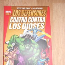 Cómics: LOS DEFENSORES CUATRO CONTRA LOS DIOSES - STEVE ENGLEHART / SAL BUSCEMA - MARVEL GOLD - PANINI. Lote 204268586