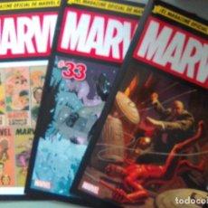 Cómics: MARVEL AGE 32-33-34 /SEV2020. Lote 204334466