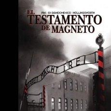 Cómics: EL TESTAMENTO DE MAGNETO - PANINI - CARTONE - MUY BUEN ESTADO - SUB01MR. Lote 204639648