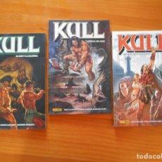 Cómics: KULL COMPLETA - TOMOS Nº 1, 2 Y 3 - PANINI (BF). Lote 204649941