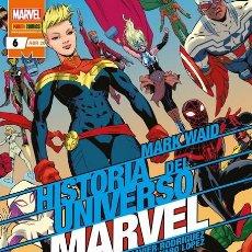 Cómics: HISTORIA DEL UNIVERSO MARVEL 6 - PANINI / MARVEL GRAPA NORMAL / NOVEDAD. Lote 204739762