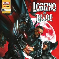 Cómics: LOBEZNO VS BLADE ESPECIAL - PANINI / MARVEL GRAPA / NOVEDAD. Lote 204739963