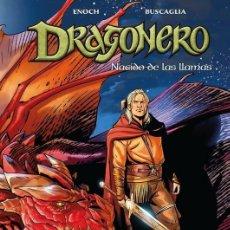 Cómics: DRAGONERO 6 : NACIDO DE LAS LLAMAS - PANINI / BONELLI / TAPA DURA. Lote 204743980