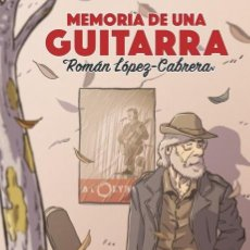 Cómics: MEMORIA DE UNA GUITARRA - PANINI / EVOLUTION / TAPA DURA / NOVEDAD. Lote 204744346