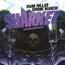 Cómics: SHARKEY CAZARRECOMPENSAS - PANINI / EVOLUTION MILLARWORLD / TAPA DURA / NOVEDAD. Lote 204744962