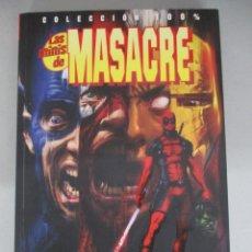 Cómics: LAS MINIS DE MASACRE MATA AL UNIVERSO MARVEL / DEADPOOL / COLECCION 100% MARVEL / PANINI. Lote 204765306
