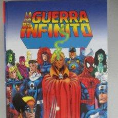Cómics: LA GUERRA DEL INFINITO / THANOS / JIM STARLIN / TAPA DURA / MARVEL / PANINI. Lote 204767937
