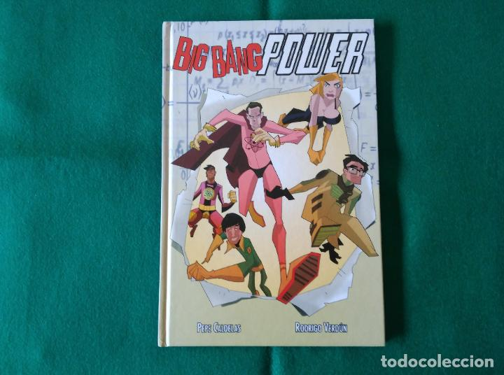 BIG BANG POWER - PEPE CALDERAS - RODRIGO VERDÚN - PANINI CÓMICS - AÑO 2013 (Tebeos y Comics - Panini - Otros)