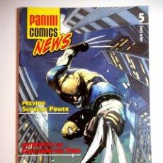 Cómics: PANINI COMICS NEWS Nº 5. Lote 205086333