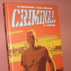 Cómics: CRIMINAL. Lote 205317822