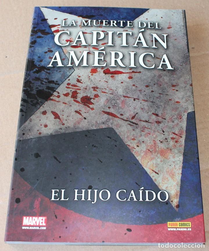 COLECCIÓN 100% MARVEL - LA MUERTE DEL CAPITÁN AMÉRICA - EL HIJO CAÍDO - PANINI - MUY BUEN ESTADO (Tebeos y Comics - Panini - Marvel Comic)