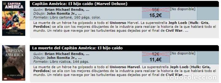 Cómics: Colección 100% MARVEL - LA MUERTE DEL CAPITÁN AMÉRICA - EL HIJO CAÍDO - PANINI - muy buen estado - Foto 2 - 205351362