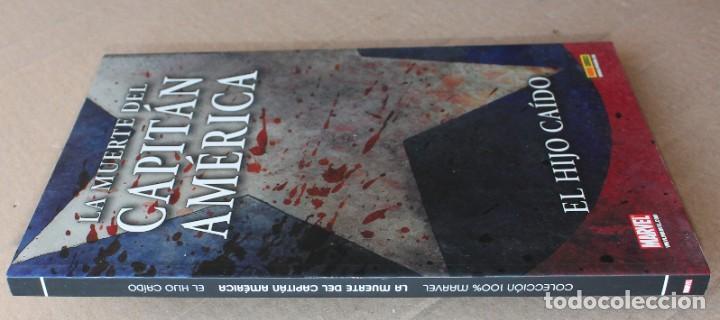 Cómics: Colección 100% MARVEL - LA MUERTE DEL CAPITÁN AMÉRICA - EL HIJO CAÍDO - PANINI - muy buen estado - Foto 3 - 205351362