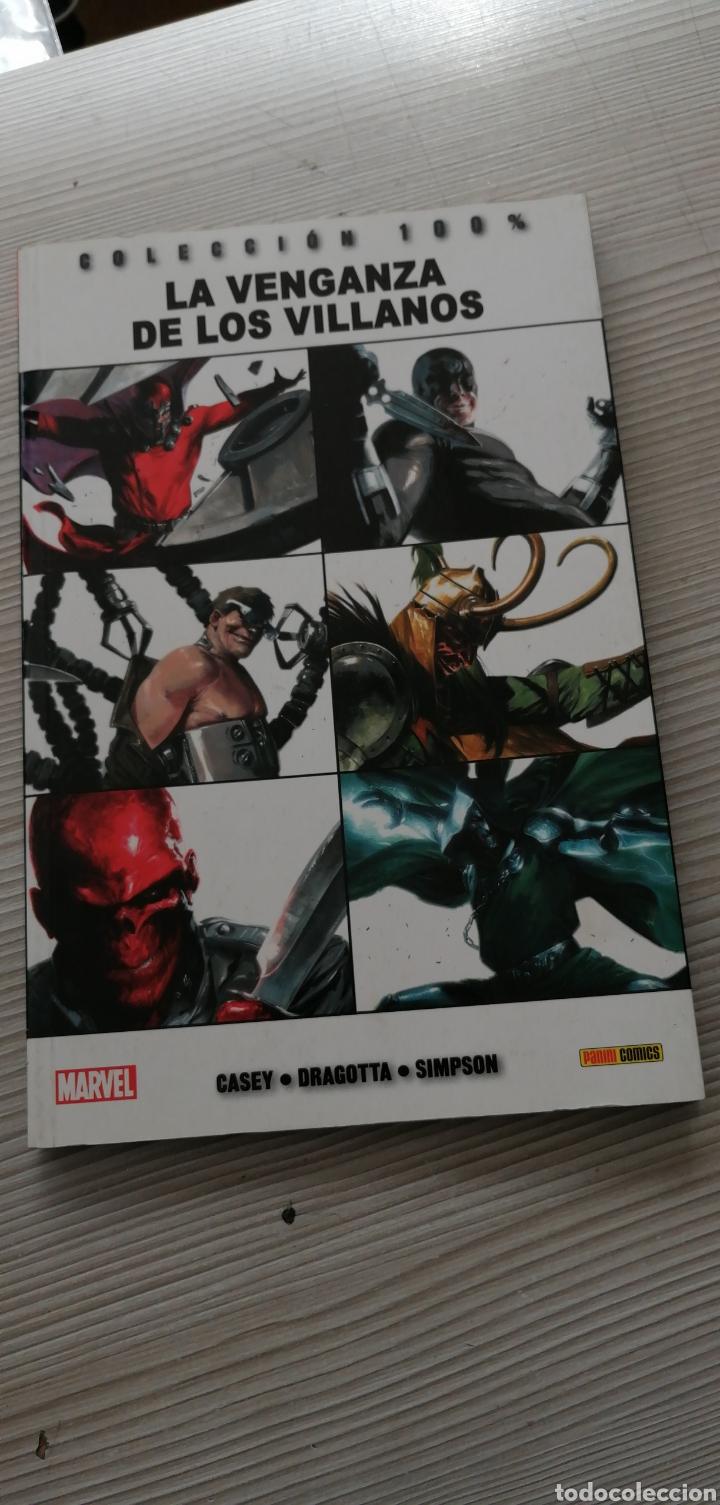 TOMO MARVEL LA VENGANZA DE LOS VILLANOS (Tebeos y Comics - Panini - Marvel Comic)