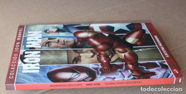 Cómics: Colección 100% MARVEL - IRON MAN - EJECUTAR PROGRAMA - PANINI 2007 - MUY BUEN ESTADO - Foto 3 - 205352022