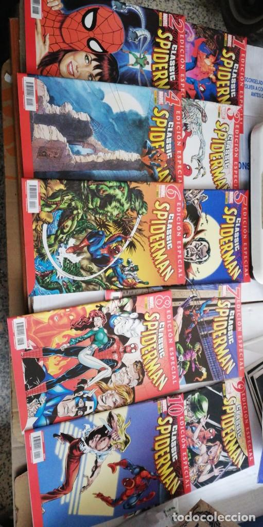 CLASSIC SPIDERMAN. COLECCION COMPLETA PANINI. 10 NUMEROS. SPIDER-MAN. (Tebeos y Comics - Panini - Marvel Comic)