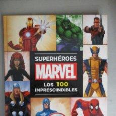 Cómics: SUPERHEROES MARVEL / LOS 100 IMPRESCINDIBLES / MUY BUEN ESTADO. Lote 205527306