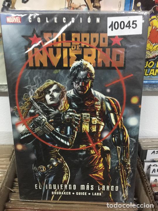 PANINI COLECCION 100% SOLDADO DE INVIERNO MUY BUEN ESTADO (Tebeos y Comics - Panini - Marvel Comic)