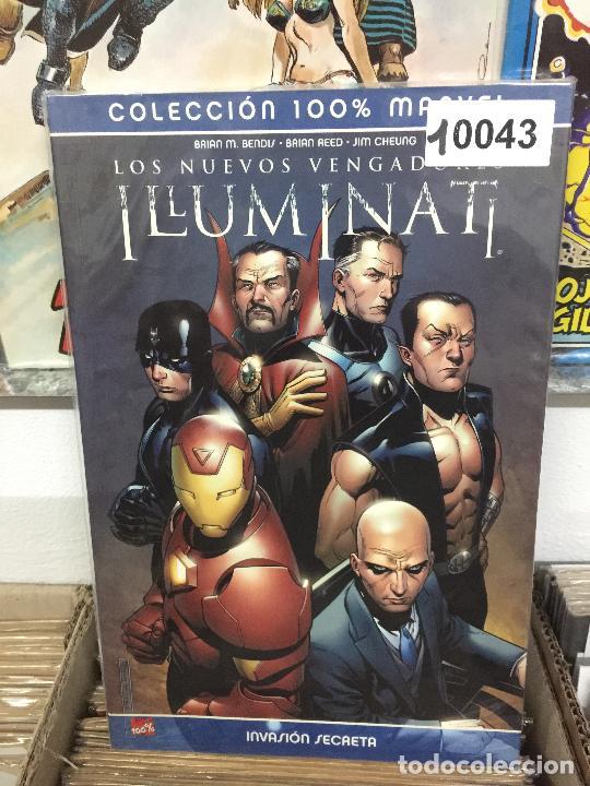 PANINI COLECCION 100% LOS NUEVOS VENGADORES ILLUMINATI - INVASION SECRETA MUY BUEN ESTADO (Tebeos y Comics - Panini - Marvel Comic)